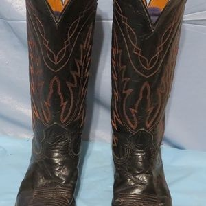 VINTAGE MEN'S NOCONA BOOTS COWBOY WESTERN Size 8 A